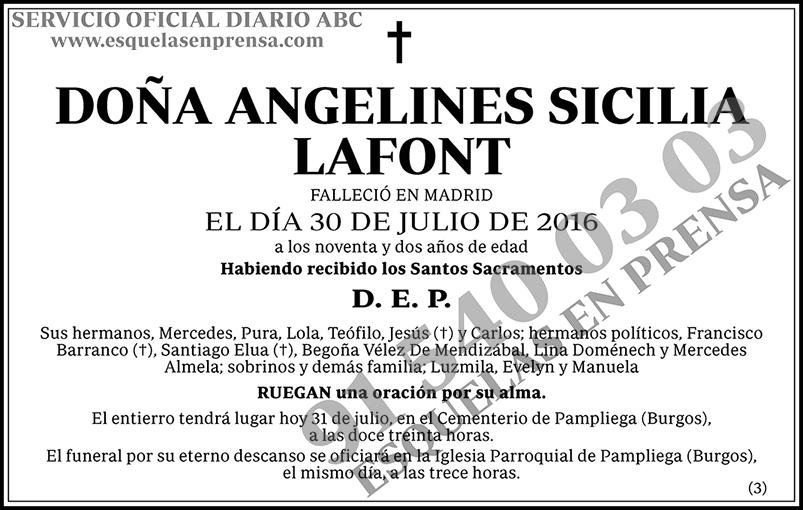 Angelines Sicilia Lafont